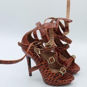 Vivienne Westwood 'Carrie' Siena Croc Multi Strap